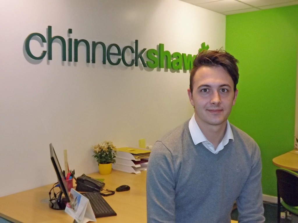 Chinneck Shaw property manager Jamie McCutcheon