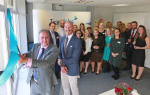 DCCI chief cuts ribbon on TeamJobs' new Bournemouth office