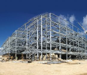 Steel firm on ball for £12.7m sports centre