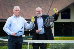 Tennis club nets law firm as business partner