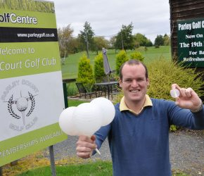 Parley Golf Centre has a shot in the dark