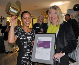 Celebrations as Hampshire care home is declared 'Outstanding'
