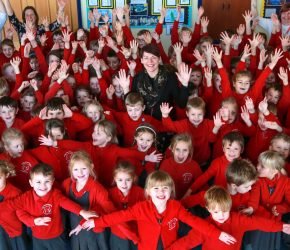Sixpenny Handley celebrates Good Ofsted