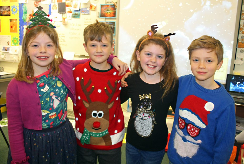 Christmas came early to Colehill First School when the whole timetable was given a festive theme.