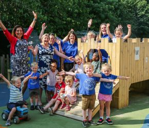 Nursery judged 'Good' with outstanding qualities