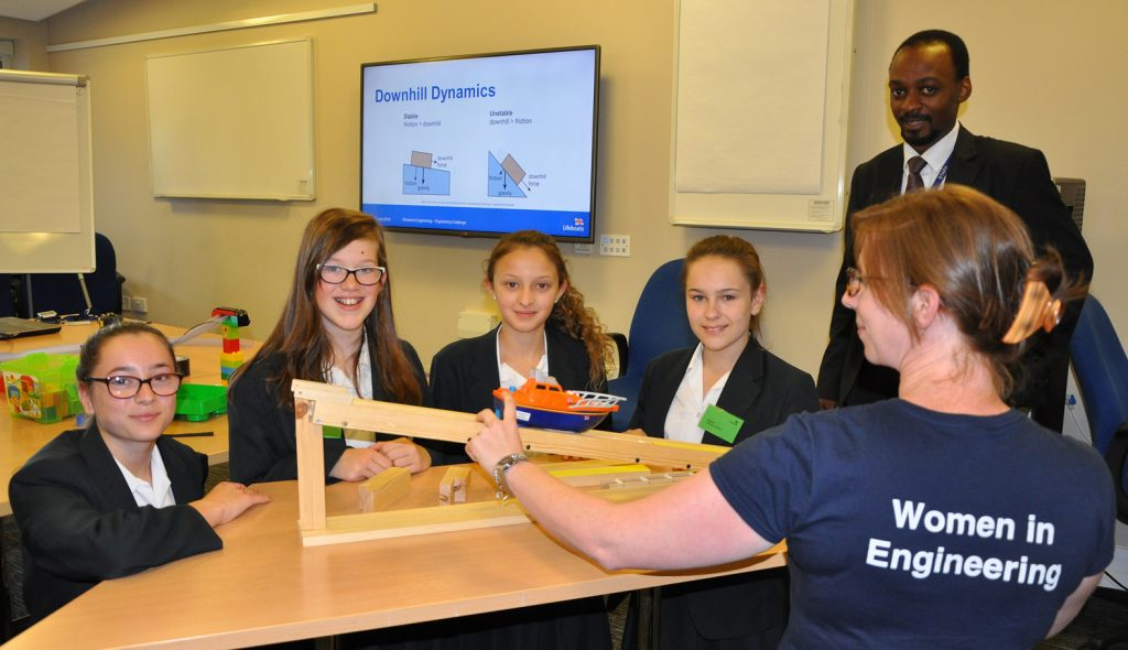 Avonbourne College students were given a fascinating insight into the world of engineering thanks to an event hosted by the RNLI, watched on by Avonbourne College science teacher Taz Chikwavira.