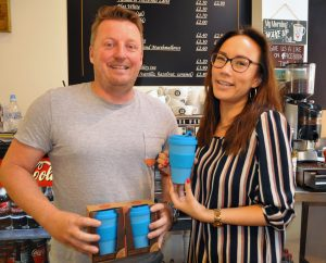 Recruiters sack single use plastic from their coffee runs