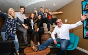 Denim rules as staff take part in annual Jeans for Genes Day