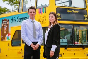 All aboard! New staff at Yellow Buses