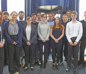 Apprentices map out future with ATLAS ELEKTRONIK UK