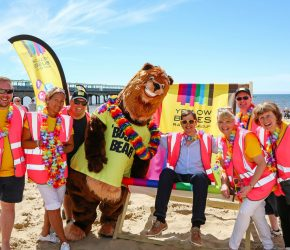 Yellow Buses' beach bash shortlisted for top UK award