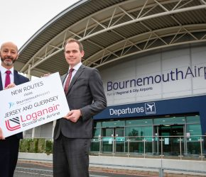 Loganair launches new routes to Channel Islands from Bournemouth Airport