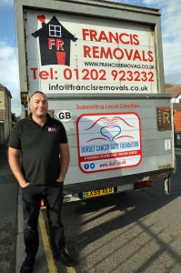 Removal firm helps puts cancer charity on the road to success