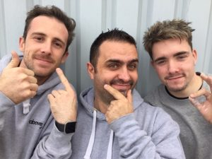 Pioneering builders engineer moustaches for Movember