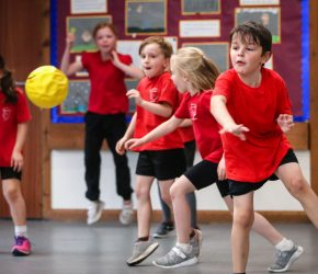 Children don't dodge the chance to compete