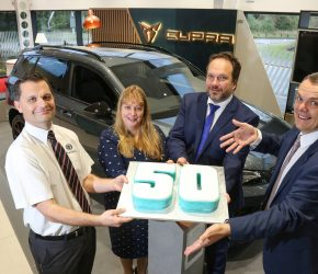 Snows motors with 50th franchised dealership