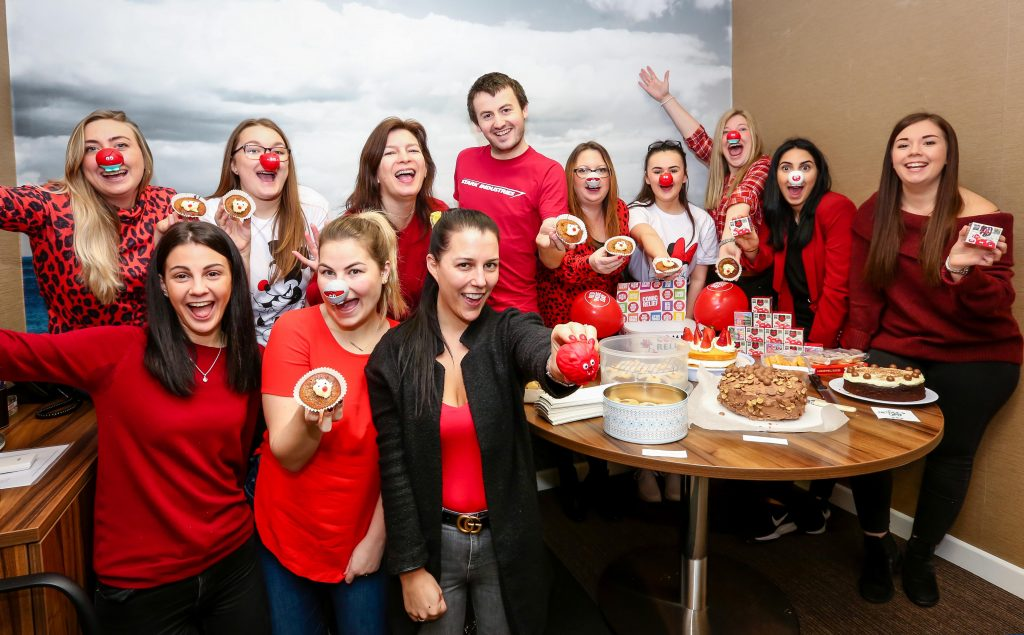nose, solicitors, law, legal, Comic Relief, Red Nose Day, public relations, Dorset, PR, business, press office