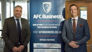 University on the ball with AFC Bournemouth
