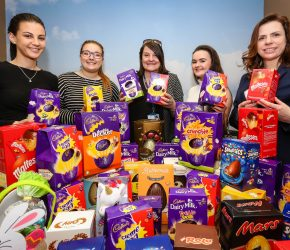 Cracking donation as law firm organises 'egg bank' for hospice