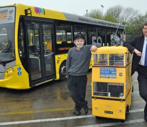 Yellow Buses marks 50th anniversary of the last trolleybus