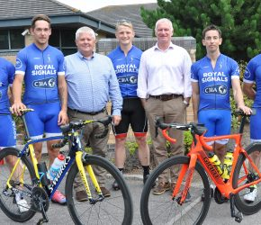 Signals cyclists in cyber sponsorship