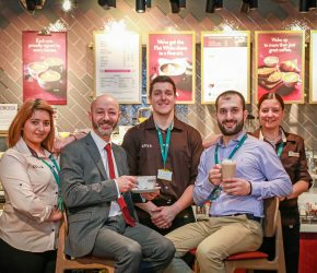 Holiday-makers enjoy a taste of home at Bournemouth Airport