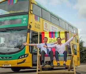 Yellow Buses at the wheel as headline sponsor of the Destination Awards