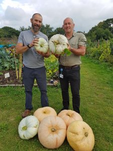 Allotment project grows healthier minds and bodies