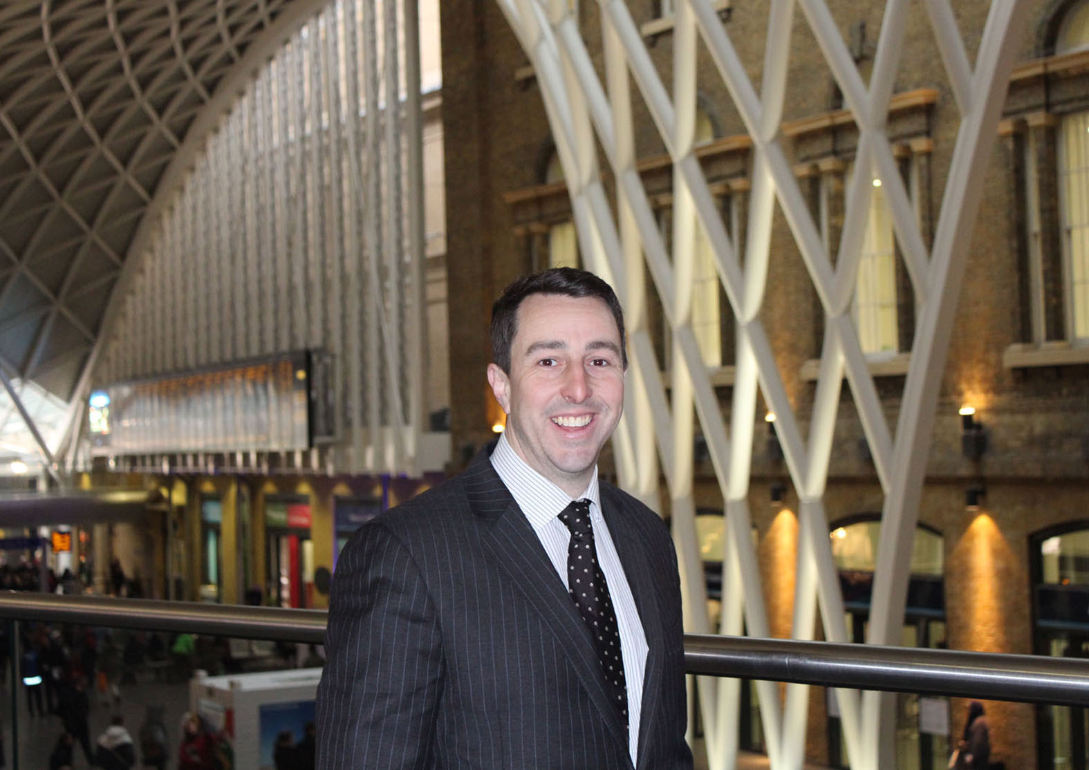 Justin Ayling of Express Rail Services