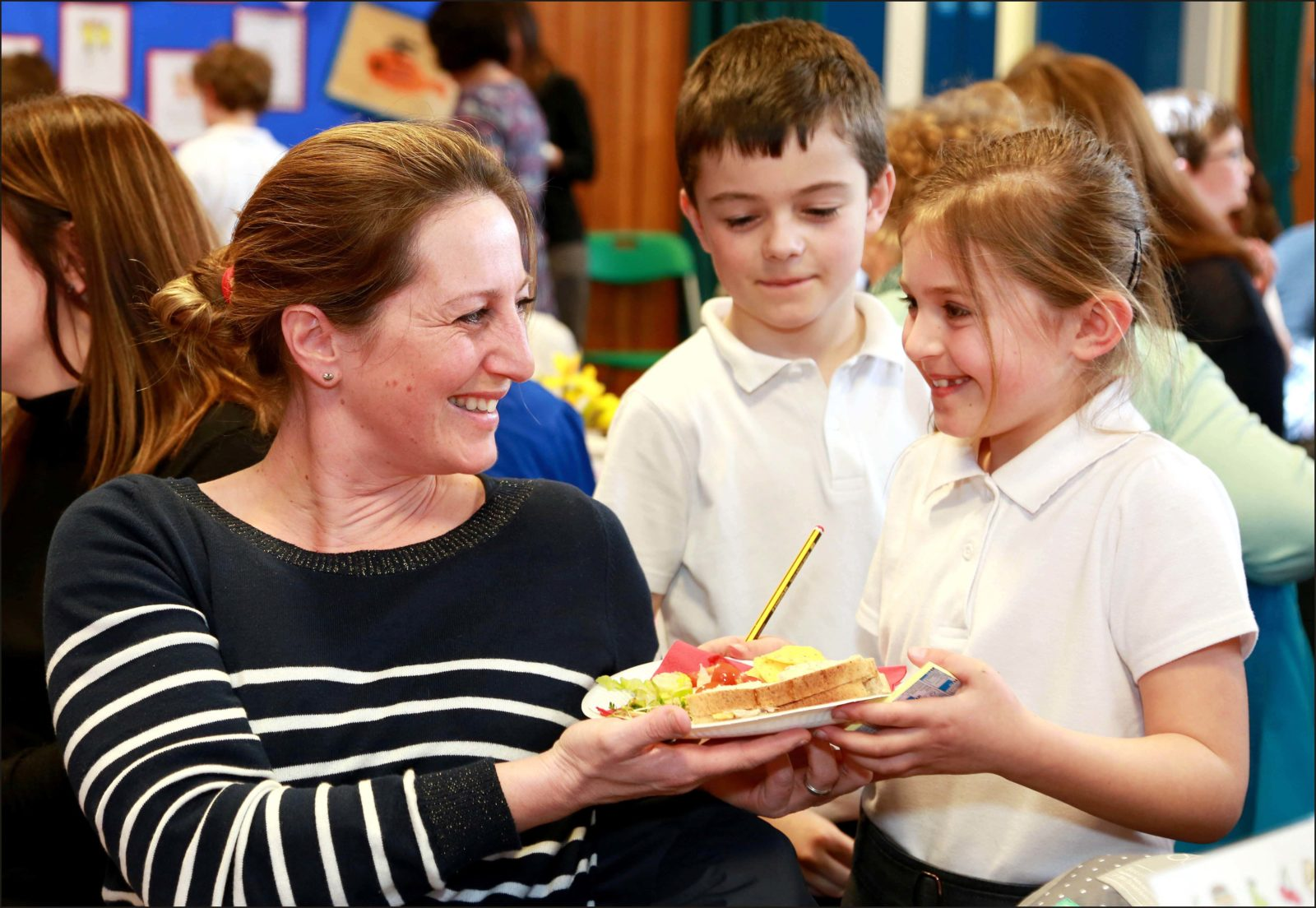 Merley First School pupils gave mums a special treat when they opened a mothers day cafe, making and serving afternoon tea and cakes to their parents.