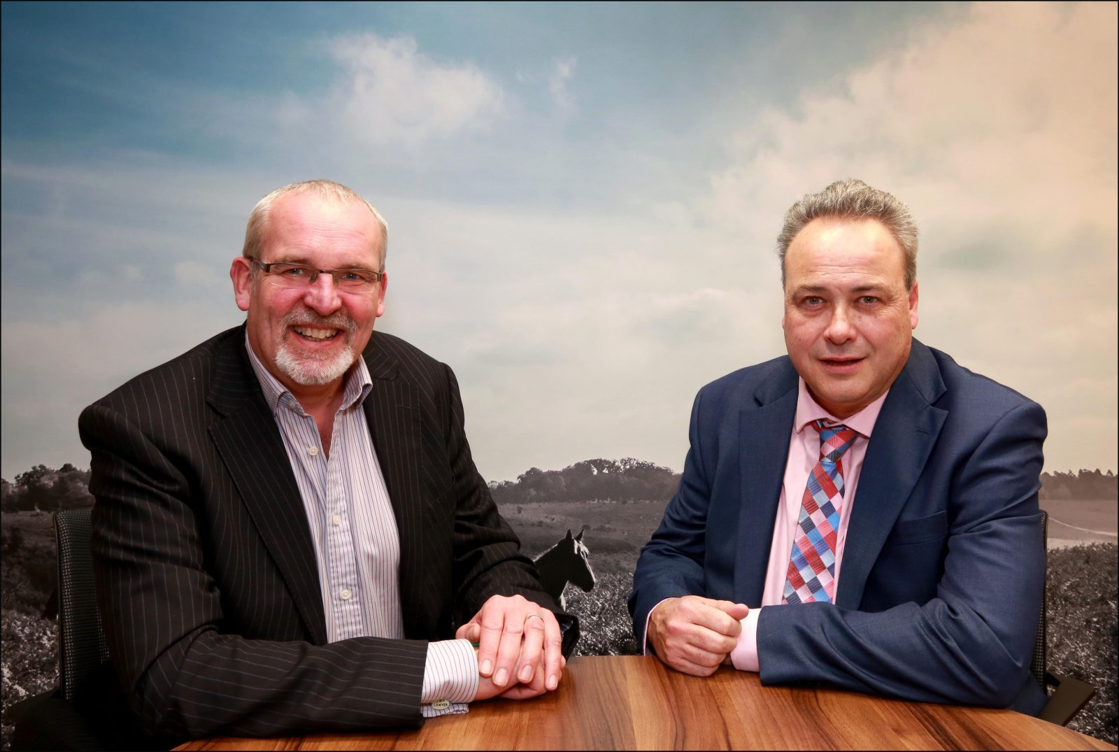 Taxing appointment: Trust and tax specialist Andy Kirby (right) with Nigel Smith, Managing Partner, Ellis Jones Solicitors.