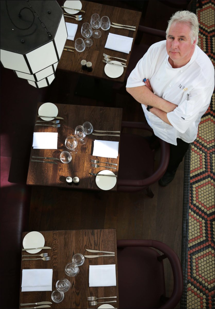 Executive chef at the new Neo restaurant in Bournemouth, Kevin Viner.