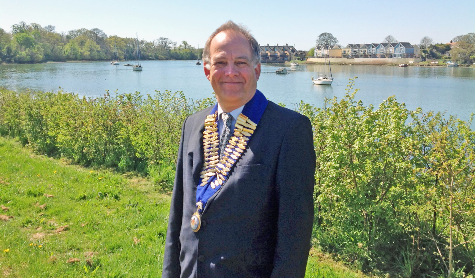 STEVE Cripps who has been unveiled as chairman of the Portsmouth Property Association for a second year.