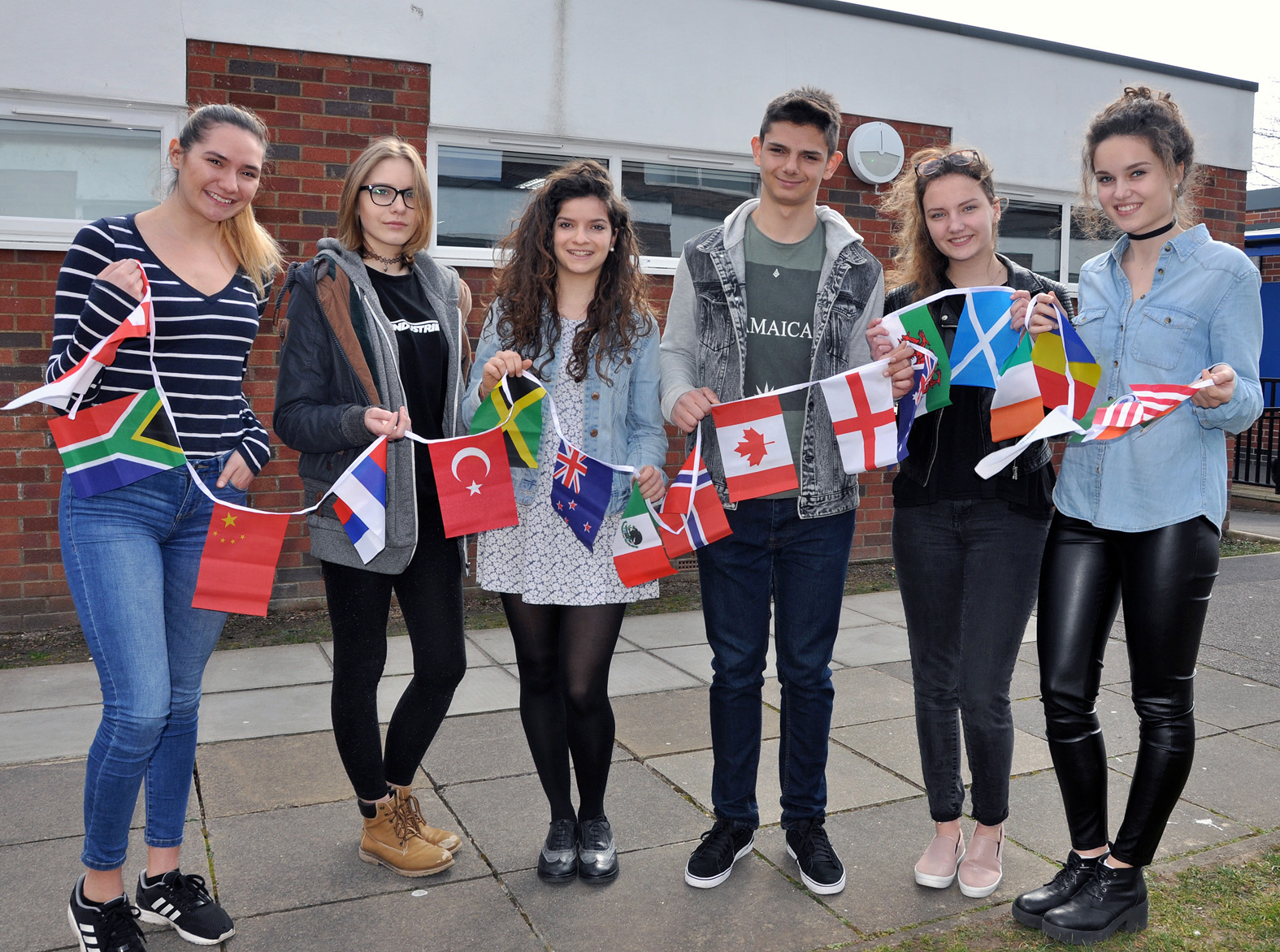 CELEBRATION: Avonbourne Sixth Form in Bournemouth has celebrated the contribution its international students have made to the college. Here are some of Avonbourne's current international students.