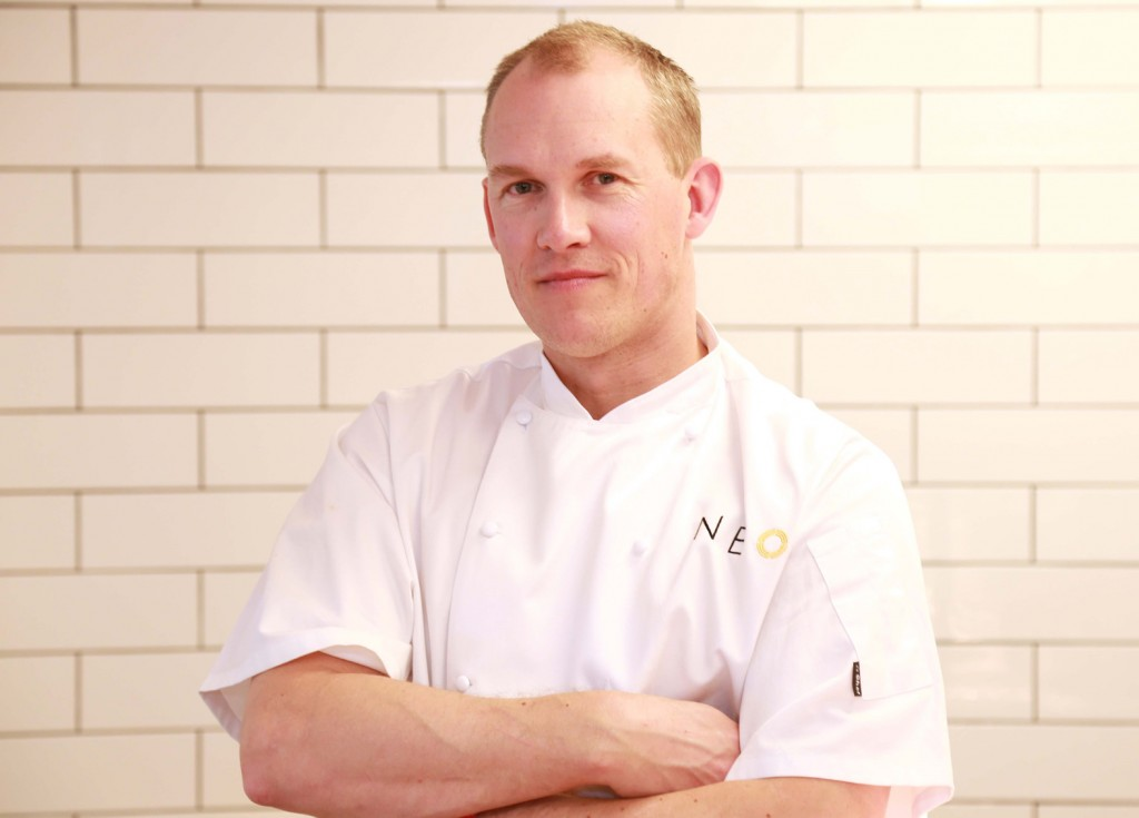 Chris Howard, the Head Chef of Neo in Bournemouth