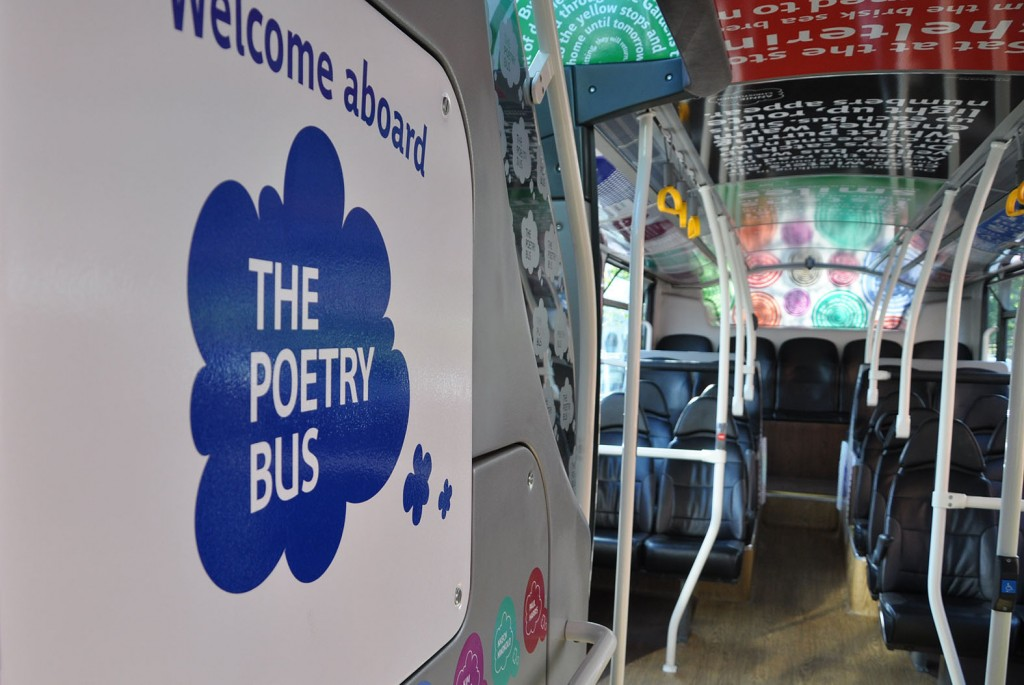 Yellow Buses has launched its Poetry Bus as it continues to support the arts.