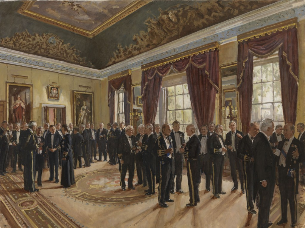 The Burke's Peerage Foundation Award for classically inspired portraiture has been won this year by Richard Foster for his painting entitled Trinity House.