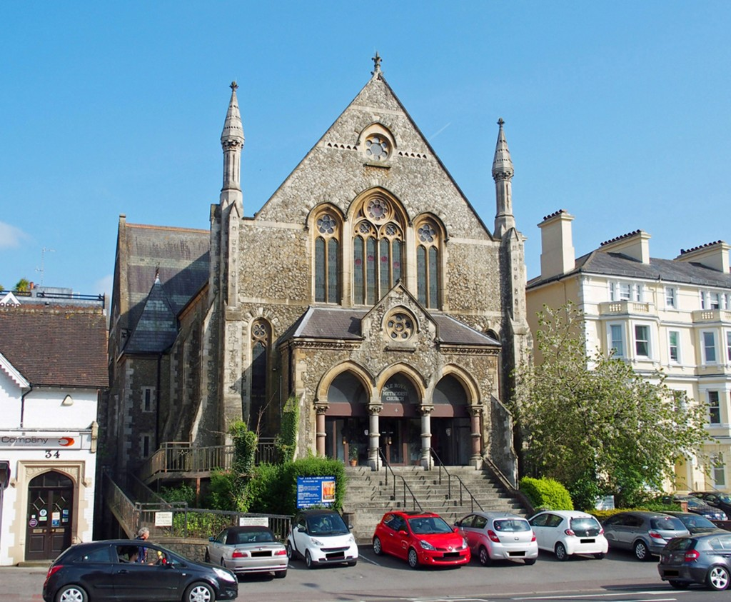 AUCTION LOT: Vale Royal Church, Tunbridge Wells, that sold for £900,000 at the latest Clive Emson Auctioneers sale