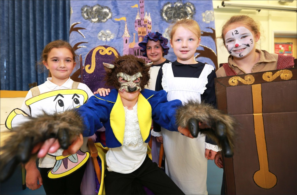 Colehill First School stage their production of Beauty and the Beast.