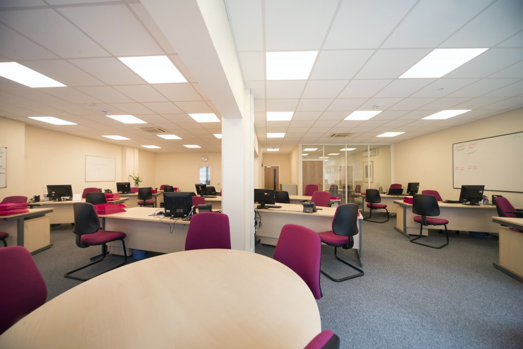 The Berry Recruitment office in Kent has been refurbished by local company JBH Refurbishment.