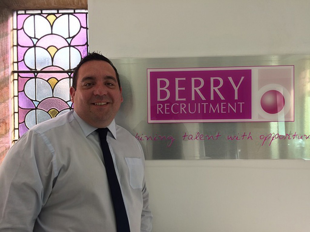Justine Howe - operations manager at Berry Recruitment in Cardiff.