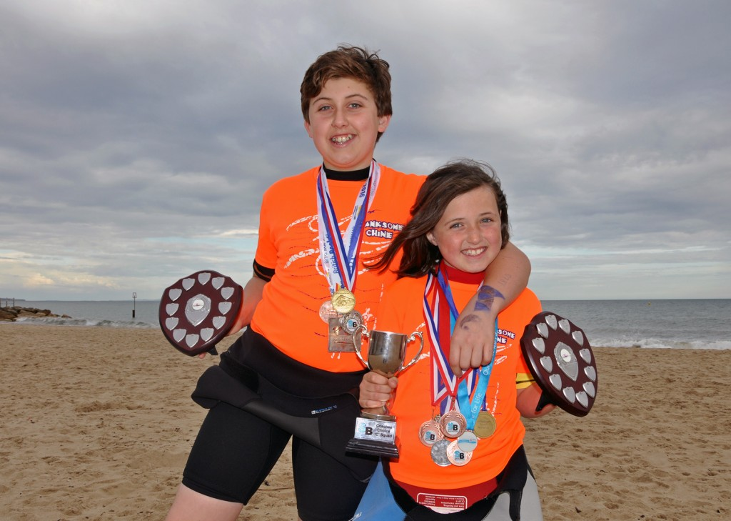 MAKING A SPLASH. Sibling swimming duo Spencer and Beatrice Ben-Scully are causing real waves in the sport. The pair, who both study at the LeAF Academy, are winning competitions in the pool and on the open water.