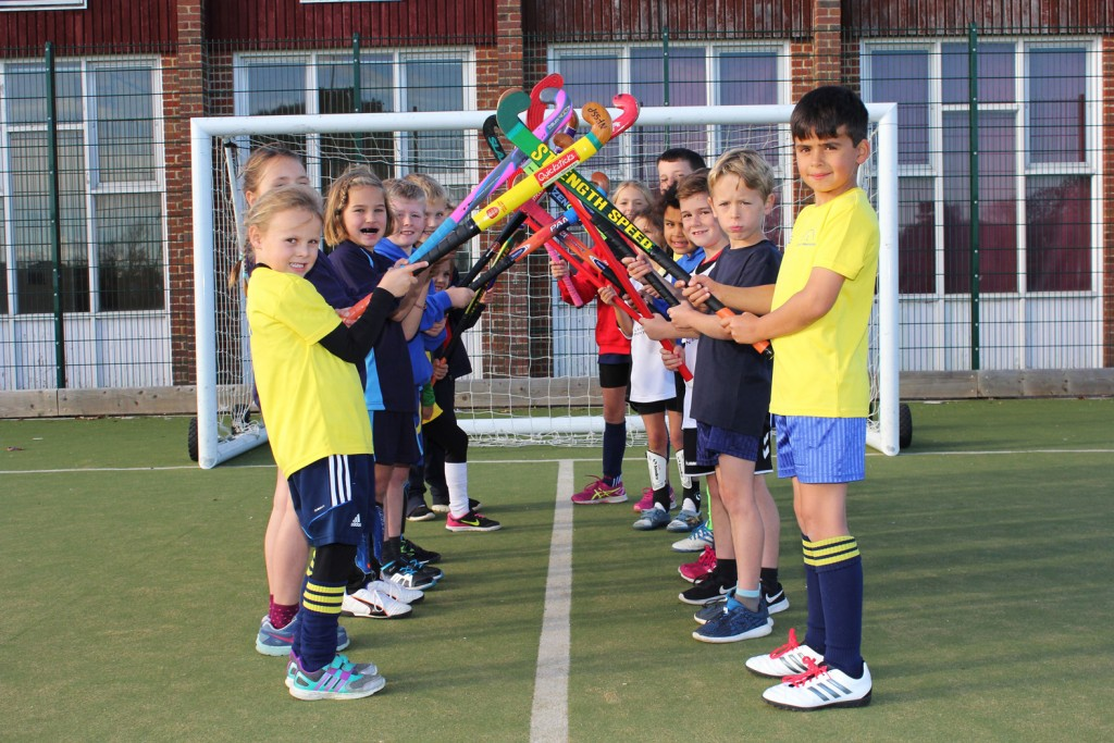 Children from the New Forest were given a fun introduction to hockey thanks to a 'Quicksticks' tournament hosted by The Arnewood School.