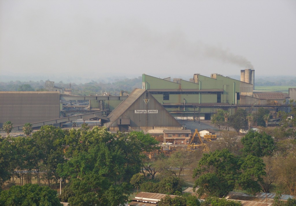 The sugar production plant in Zimbabwe that Craig Kuttner had a contract with.