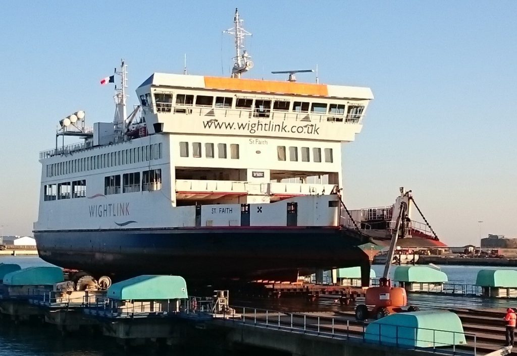 REFITS YOU SIR: Britain's largest independent ship repairer and marine engineering services provider Burgess Marine has refitted two Wightlink ferries in Cherbourg.