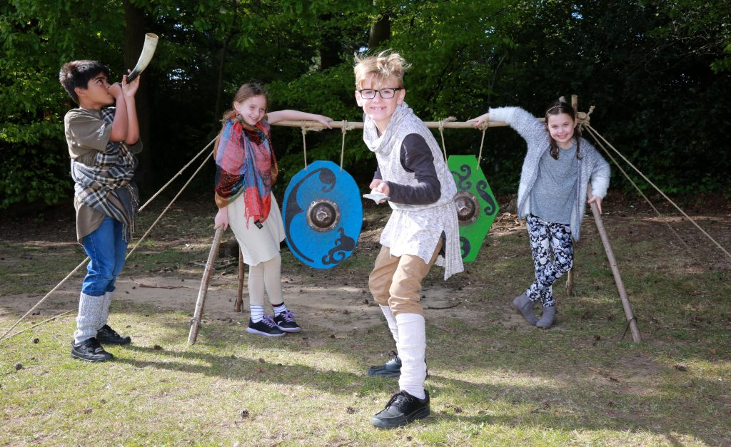 Colehill First school held an Iron Age day with a themed assembly and activities.