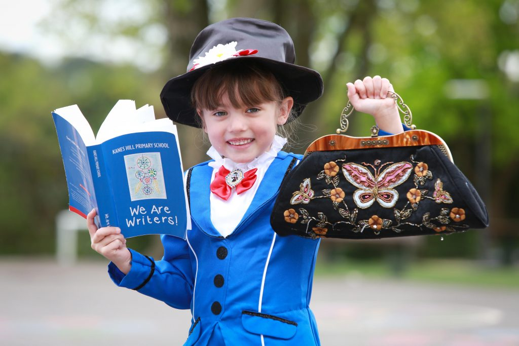 Pupils from Kanes Hill Primary School have combined to publish a book of their poems based on their dreams and aspirations. Lucy Munday loved being Mary Poppins.