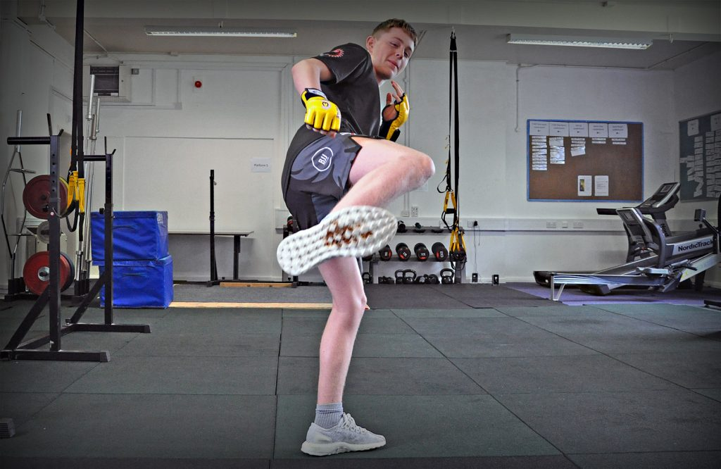 RISING STAR: LeAF Studio's Nathan Johnstone is making a name for him self in the world of MMA (Mixed Martial Arts) and is set to make his debut in TV's Cage Warriors.