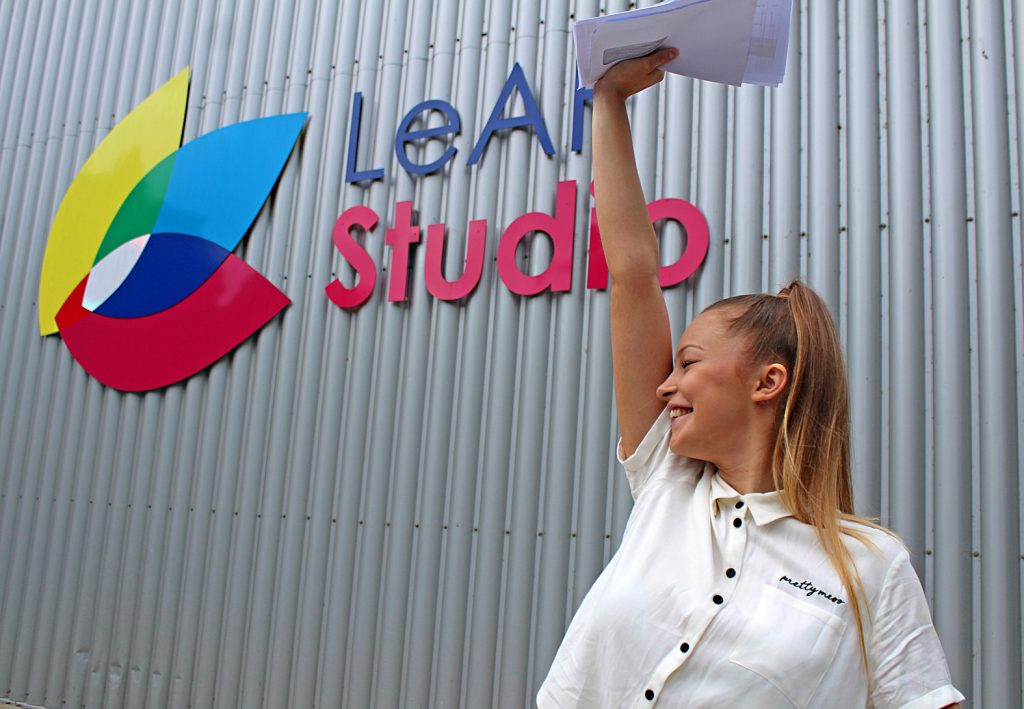 LeAF Studio's Megan Holland is off to Brighton University to study Perfoming Arts after achieving a triple Distinction* in Performing Arts and three A-levels in Dance, Ethics and Philosophy; giving her the equivalent of five A-levels in total.