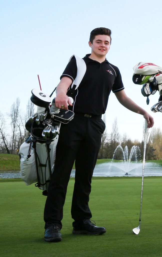 Golfer Jacob Hunter is now swinging into a professional sports career after finishing his academic life on a high. Golfer Jacob Hunter is now swinging into a professional sports career after finishing his academic life on a high.   The talented sports star achieved a double Distinction in BTEC Sport, Distinction* in Creative Media and a D at A Level Business.